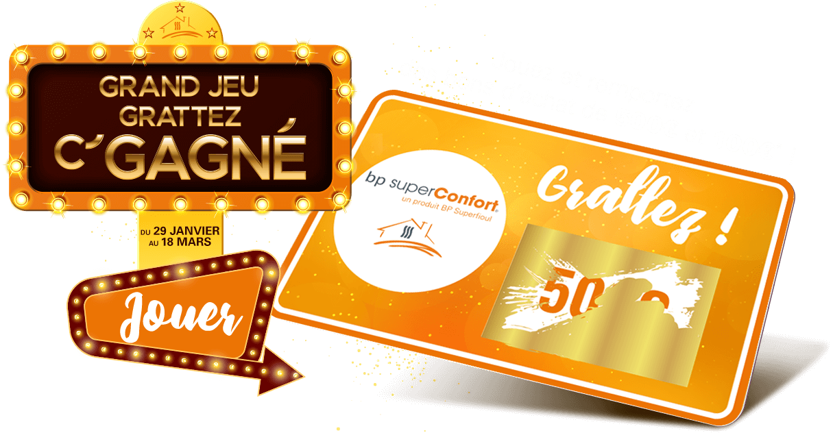 du 29 janvier au 18 mars, Jouez et repportez des bons d'achat de 500€ et 100€
