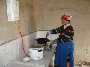 La distribution de biodigesteurs en Chine