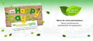 Retour sur le jeu LES HAPPY DAYS avec bp MoteurPro